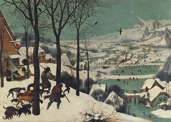 The Hunters in the Snow (Winter), 1565 | Bruegel the Elder | Painting Reproduction