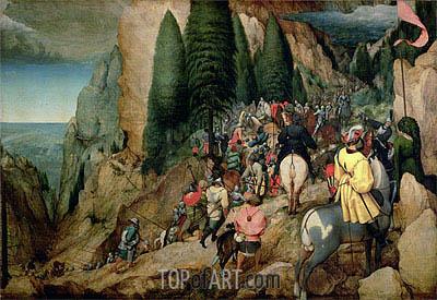 The Conversion of Saul, 1567 | Bruegel the Elder | Painting Reproduction