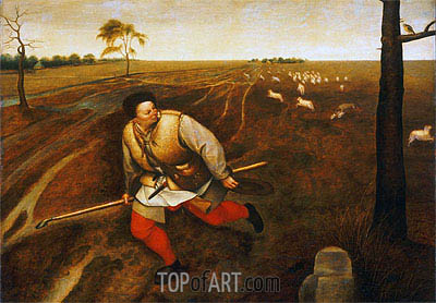The Unfaithful Shepherd, c.1567/69 | Bruegel the Elder | Painting Reproduction