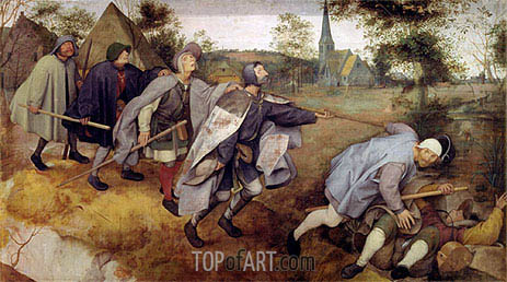 Parable of the Blind, 1568 | Bruegel the Elder | Painting Reproduction