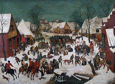 Massacre of the Innocents, 1565 | Bruegel the Elder | Painting Reproduction