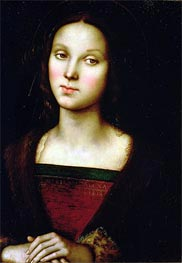 St. Mary Magdalene, Undated by Perugino | Painting Reproduction