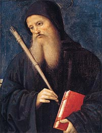 St. Benedict, Undated by Perugino | Painting Reproduction