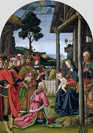 Adoration of the Magi | Perugino | Painting Reproduction