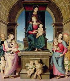 The Family of St. Anne | Perugino | Painting Reproduction