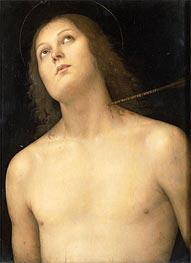 St. Sebastian | Perugino | Painting Reproduction