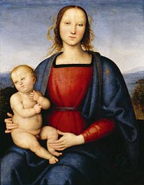 Madonna and Child, c.1500 by Perugino | Painting Reproduction
