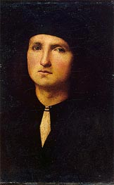 Portrait of a Young Man | Perugino | Painting Reproduction