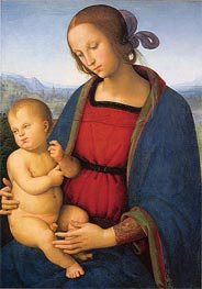 Madonna and Child | Perugino | Gemälde Reproduktion