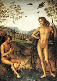 Apollo and Marsyas | Perugino | Painting Reproduction