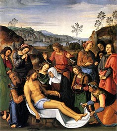 Lamentation over the Dead Christ | Perugino | Gemälde Reproduktion
