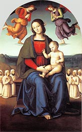 Madonna of the Confraternity of the Consolazione | Perugino | Gemälde Reproduktion