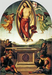Resurrection of Christ | Perugino | Gemälde Reproduktion