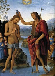 Baptism of Christ | Perugino | Gemälde Reproduktion
