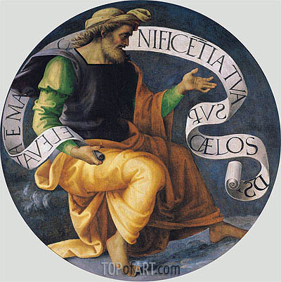 The Prophet Isaiah, c.1512/17 | Perugino | Painting Reproduction