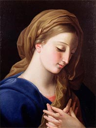 The Virgin Annunciate | Pompeo Batoni | Painting Reproduction