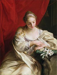 Purity of Heart | Pompeo Batoni | Painting Reproduction
