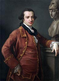Portrait of John Monck | Pompeo Batoni | Painting Reproduction
