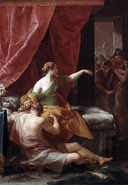 Samson and Delilah, 1766 by Pompeo Batoni | Painting Reproduction