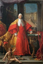 Portrait of Prince Abbondio Rezzonico, 1756 by Pompeo Batoni | Painting Reproduction