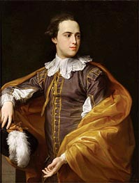 Portrait of Sir Charles Watson, 1775 by Pompeo Batoni | Painting Reproduction
