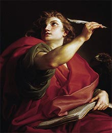 Saint John the Evangelist | Pompeo Batoni | Painting Reproduction