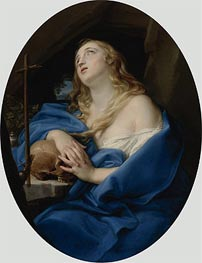 The Penitent Magdalene, Undated by Pompeo Batoni | Painting Reproduction