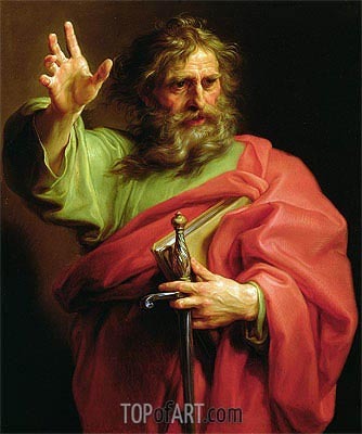 St Paul, c.1740/43 | Pompeo Batoni | Painting Reproduction