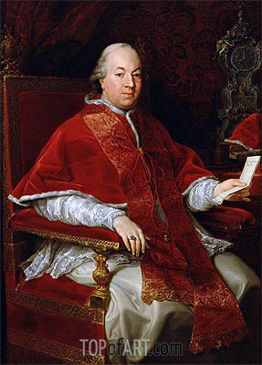 Pope Pius VI, c.1775/76 | Pompeo Batoni | Painting Reproduction
