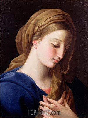 The Virgin Annunciate, Undated | Pompeo Batoni | Painting Reproduction
