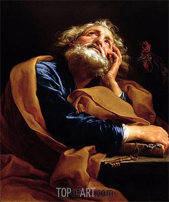 St Peter, c.1740/43 | Pompeo Batoni | Painting Reproduction
