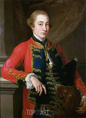 10th Earl of Pembroke, Undated | Pompeo Batoni | Painting Reproduction