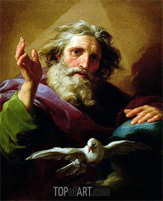 God the Father, 1740/43 | Pompeo Batoni | Painting Reproduction
