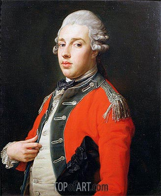 Portrait of George James, 1st Marquess of Cholmondeley, Undated | Pompeo Batoni | Gemälde Reproduktion