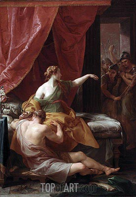 Samson and Delilah, 1766 | Pompeo Batoni | Painting Reproduction