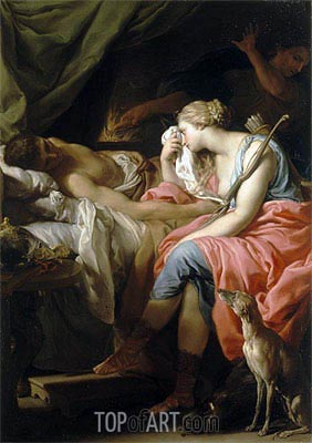 The Death of Meleager, c.1740/43   Pompeo Batoni   Painting Reproduction