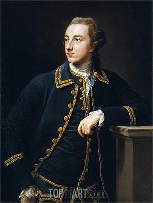 Portrait of a Man in a Green Suit, undated   Pompeo Batoni   Painting Reproduction