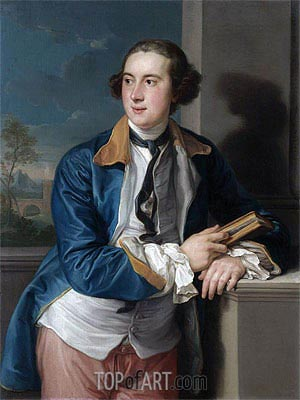 Portrait of William Legge, 2nd Earl of Darmouth, Undated | Pompeo Batoni | Painting Reproduction