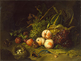 Still-Life with Fruit, Flowers and Insects | Rachel Ruysch | Painting Reproduction