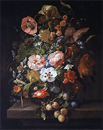 Still Life with Flowers and Fruits | Rachel Ruysch | Painting Reproduction