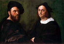 Andrea Navagero and Agostino Beazzano, c.1516 by Raphael | Painting Reproduction
