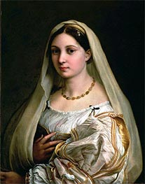 La Donna Velata | Raphael | Painting Reproduction