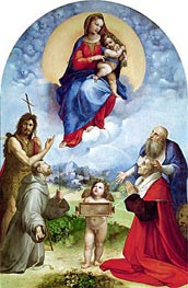 The Madonna of Foligno | Raphael | Painting Reproduction
