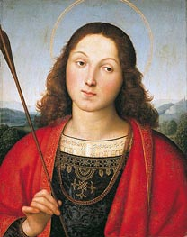 Saint Sebastian | Raphael | Painting Reproduction