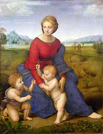 Madonna of Belvedere (Madonna del Prato) | Raphael | Painting Reproduction