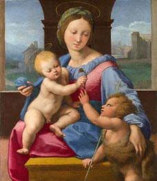 The Garvagh Madonna | Raphael | Painting Reproduction