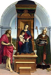 The Ansidei Madonna | Raphael | Painting Reproduction