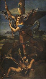 St. Michael Overwhelming the Demon | Raphael | Gemälde Reproduktion