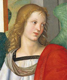 Head of an Angel | Raphael | Painting Reproduction