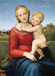 The Small Cowper Madonna | Raphael | Gemälde Reproduktion